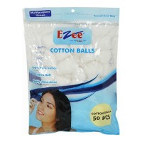 EZEE COTTON BALLS 50.00 PCS PACKET
