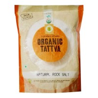 ORGANIC-TATTVA ROCK SALT 500.00 GM PACKET