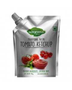 WINGREENS-FARMS TOMATO KETCHUP 450.00 GM PACKET