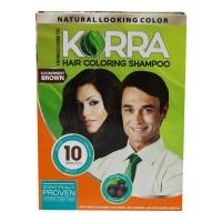 KORRA HAIR COLORING SHAMPOO 3.0 DARKEST BROWN 30.00 ML BOX