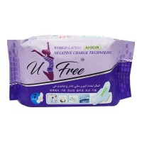 U-FREE SANITARY PADS 7.00 PCS PACKET