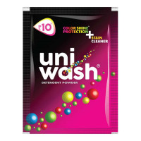 UNIWASH DETERGENT POWDER 90.00 GM PACKET