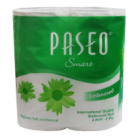 PASEO BATHROOM TISSUES 300X 4 ROLLS 1.00 NO