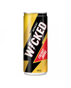 WICKED ENERGY DRINK 250.00 ML CAN