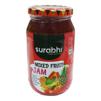 ONDOOR SURABHI MIXED FRUIT JAM 500 GM BUY 1 GET 1 FREE 1.00 NO