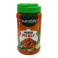 ONDOOR SURABHI MIXED PICKLE 1 KG BUY 1 GET 1 FREE 1.00 NO