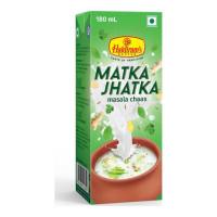HALDIRAM MATKA JHATKA MASALA CHAAS 180.00 ML TETRAPACK