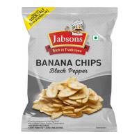JABSONS BANANA CHIPS(BLACK PEPPER) 150.00 GM PACKET
