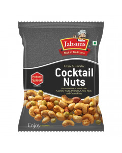 JABSONS COCKTAIL NUTS 120.00 GM PACKET