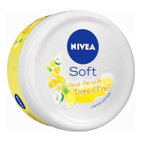 NIVEA SOFT TROPICAL FRUIT MOISTURISER 100.00 ML