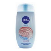 NIVEA CLAY FRESH HIBISCUS SHOWER GEL 250.00 ML