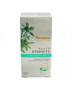HIMALAYA YOUTH ETERNITY SPF 15 DAY CREAM 50.00 ML