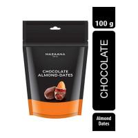 MAZAANA CHOCOLATE ALMOND DATES 100.00 GM PACKET