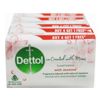 DETTOL CO-CREATED WITH MOMS JASMINE SOAP 4X 75.00 GM