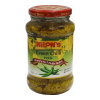 NILONS GREEN CHILLI PICKLE 400.00 GM JAR