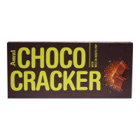 AMUL CHOCO CRACKER CHOCOLATE 150.00 GM