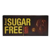 AMUL SUGAR FREE DARK CHOCOLATE 150.00 GM
