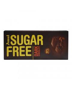 AMUL SUGAR FREE DARK CHOCOLATE 150.00 GM