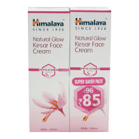 HIMALAYA NATURAL GLOW KESAR FACE CREAM 2X 25.00 GM