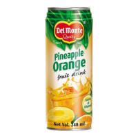 ONDOOR DEL MONTE PINEAPPLE ORANGE FRUIT DRINK 240 ML BUY 1 GET 1 FREE 1.00 NO