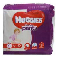 HUGGIES WONDER PANTS XTRA LARGE 20 PANTS 12-17 KG 1.00 NO