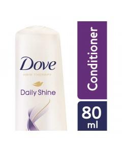 DOVE DAILY SHINE CONDITIONER 80.00 ML BOTTLE