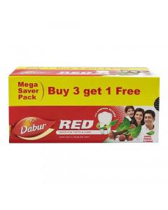 DABUR RED TOOTHPASTE SUPER VALUE PACK 800.00 GM BOX