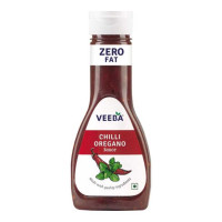 VEEBA CHILLI OREGANO SAUCE 350.00 GM BOTTLE