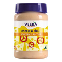 VEEBA CHEESE & CHILLI SANDWICH SPREAD 275.00 GM JAR