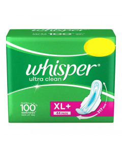 WHISPER ULTRA CLEAN XL+ WINGS 44.00 PADS