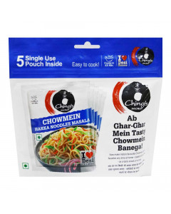 CHINGS SECRET CHOWMEIN HAKKA NOODLES MASALA 5 UNITS 100.00 GM PACKET