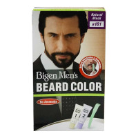 BIGEN MEN'S BEARD COLOR NATURAL BLACK B101 40.00 GM BOX