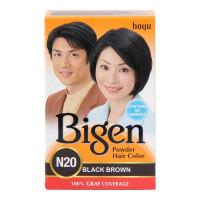 BIGEN POWDER HAIR COLOR N20 BLACK BROWN 6.00 GM BOX