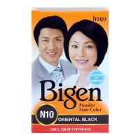 BIGEN POWDER HAIR COLOR N10 ORIENTAL BLACK 6.00 GM