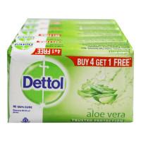 DETTOL ALOE VERA SOAP 5X 100.00 GM