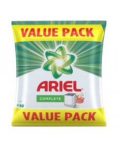 ARIEL COMPLETE DETERGENT POWDER 4.00 KG PACKET
