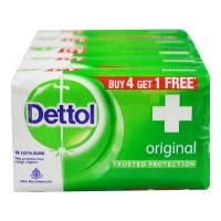 DETTOL ORIGINAL SOAP 5X 75.00 GM