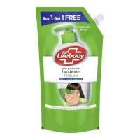 LIFEBUOY NATURE HANDWASH 750 ML BUY1 GET1 FREE