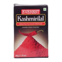 EVEREST KASHMIRI LAL CHILLI POWDER 50.00 GM BOX