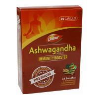DABUR ASHWAGANDHA IMMUNITY BOOSTER CAPSULES 20.00 PCS