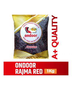 ONDOOR RAJMA RED PACKED 1.00 KG PACKET