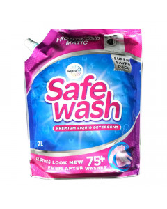 SAFEWASH MATIC FRONT LOAD LIQUID DETERGENT 2.00 LTR