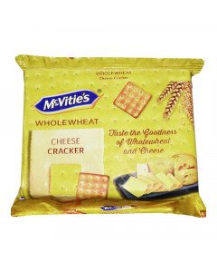 MCVITIES WHOLEWHEAT CHEESE CRACKER 120 GM
