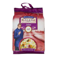 DAAWAT ROZANA MINI 60 BASMATI RICE 10.00 Kg Packet