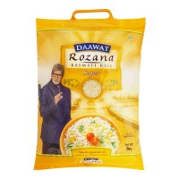 DAAWAT ROZANA BASMATI RICE SUPER 5.00 KG BAG