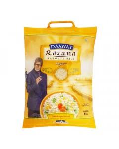 DAAWAT ROZANA BASMATI RICE SUPER 5.00 KG BAG