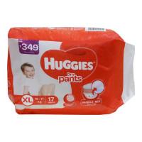 HUGGIES DRY PANTS XL 17.00 PCS