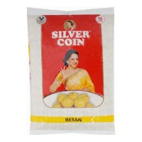 SILVER COIN BESAN 1 Kg Packet