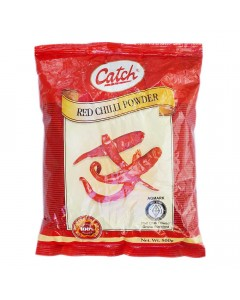 CATCH RED CHILLI POWDER 500.00 GM PACKET