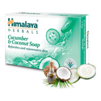 HIMALAYA CUCUMBER AND COCONUT SOAP 75.00 Gm